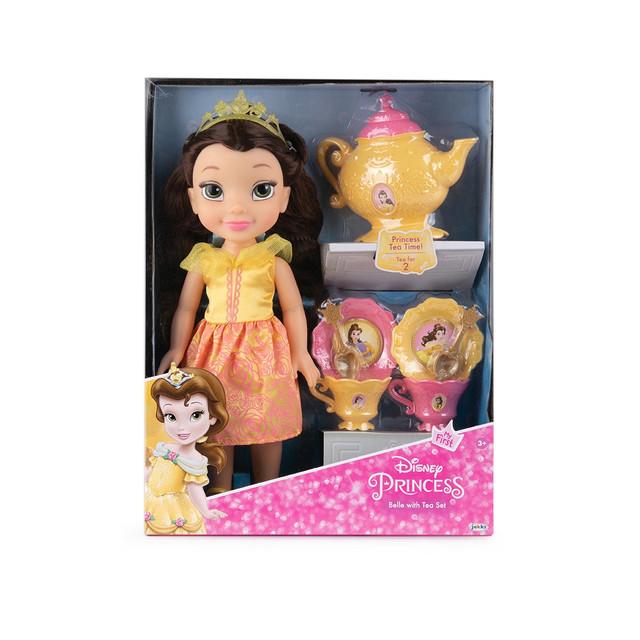 თოჯინა ჩაის ნაკრებით Disney Princess Belle Jakks Pacific JAKKS PACIFIC 45644