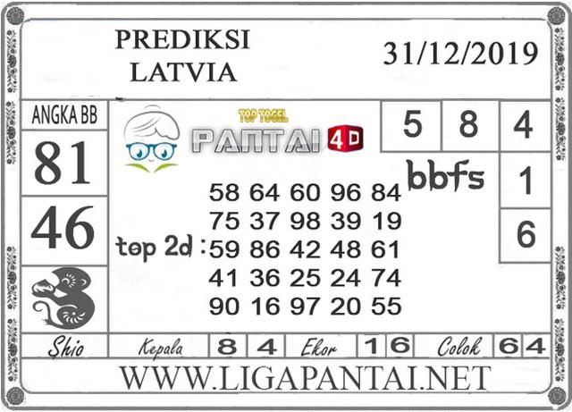 PREDIKSI TOGEL LATVIA PANTAI4D 31 DESEMBER 2019