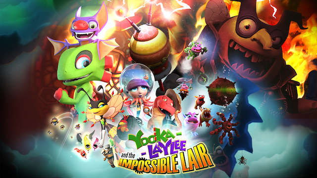 YOOKA-LAYLEE AND THE IMPOSSIBLE LAIR Makes The Impossible Lair Not So Impossible With New Update