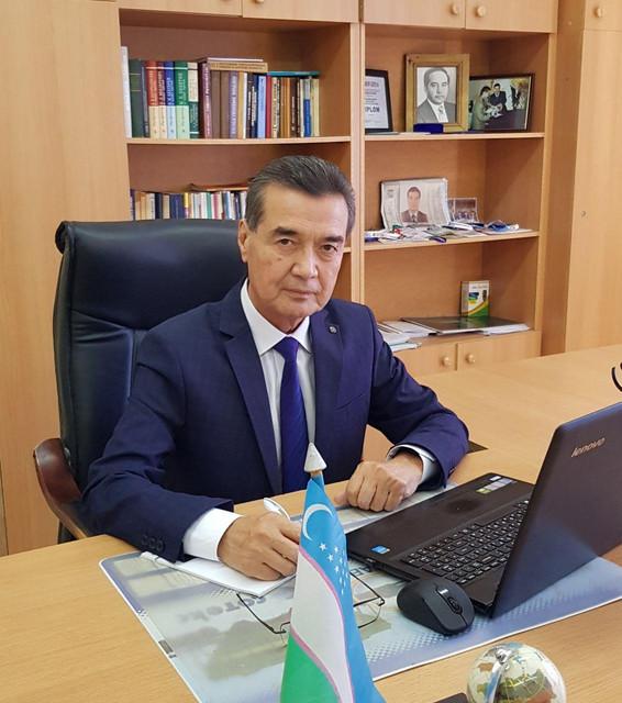TTA Urganch filialining professori Qilichev Ibadulla Abdullayevich haqida