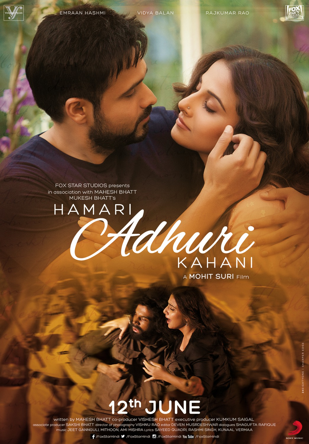 Hamari Adhuri Kahani 2015 Hindi 1080p BluRay x264 -Esub ~ Hon3y | 8.39 GB |