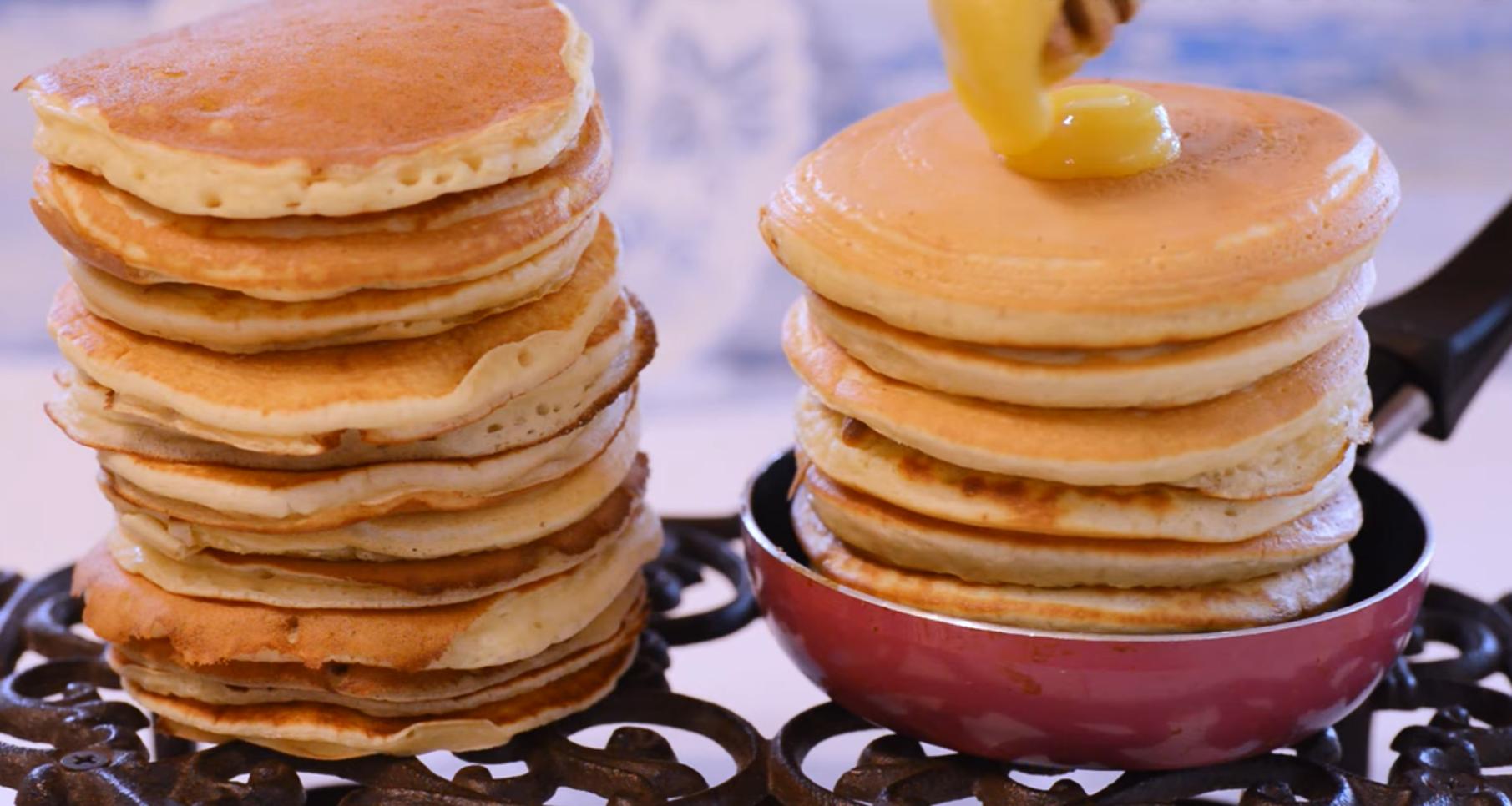 Быстрые Панкейки на Завтрак