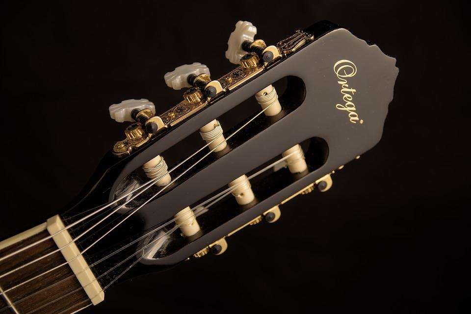cabeza guitarra - partes de la guitarra