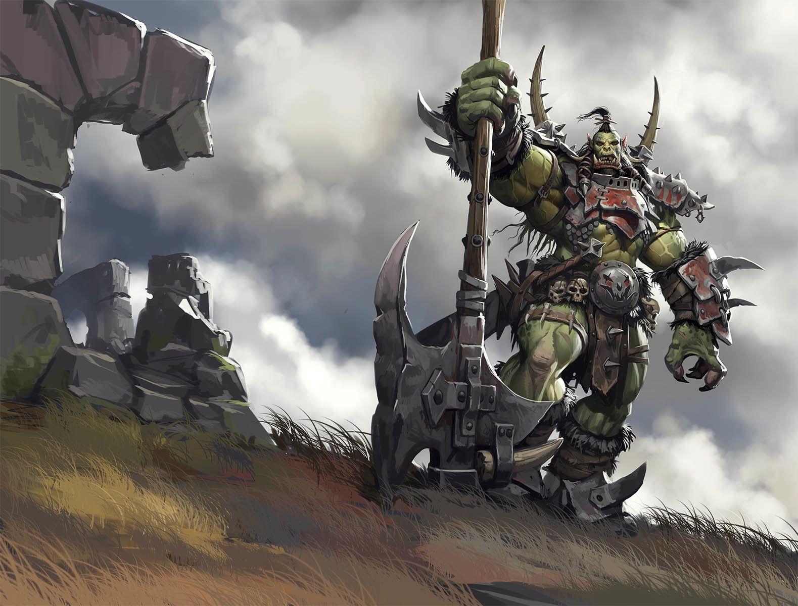 [Dungeon - B] Lar dos Orc's First-Blood-Bodyguard-of-Lightning-Paul-Mafayon