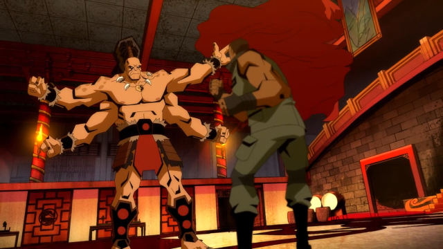 Jax Briggs Takes On Goro In This New Clip From Mortal Kombat Legends Scorpion S Revenge