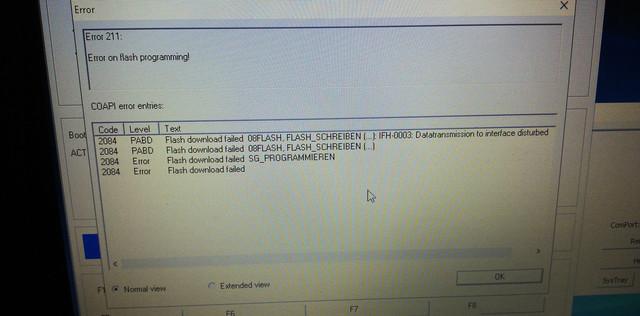 WinKFP datatransmission disturbed - Printable Version