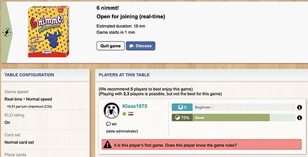 Welp TableTop of Flop: Bordspellen online spelen EO-89