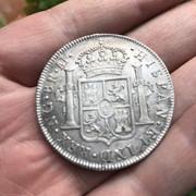 8 Reales 1821. Fernando VII. Nueva Guatemala. M -F03 IMG-7595