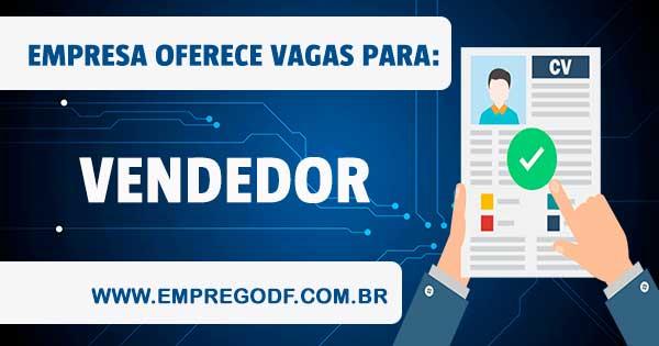 EMPREGO PARA VENDEDOR(A)