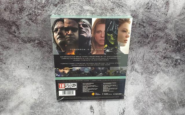 PC《死亡擱淺》中文鐵盒實體版正式發售,精裝鐵盒開箱展示 02