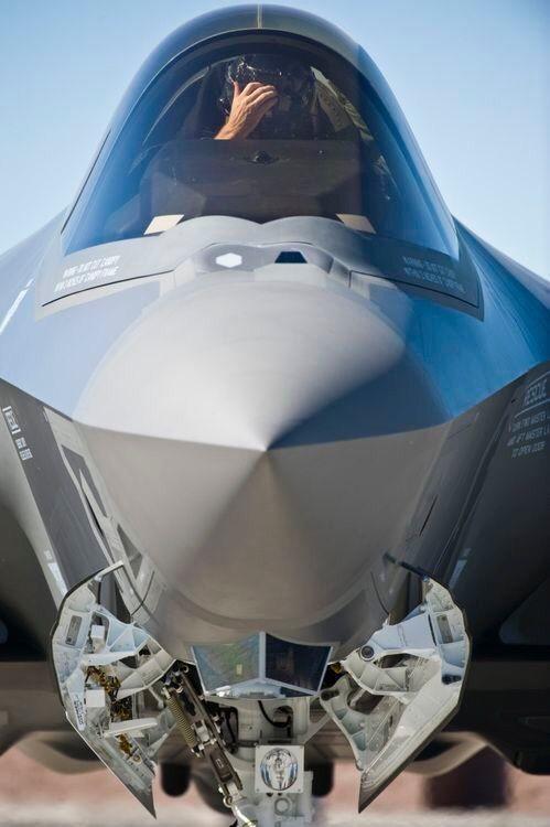 ВВС США провели первое боевое испытание истребителей-невидимок F-35A в Ираке - Цензор.НЕТ 8174