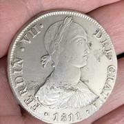 8 Reales Fernando VII 1811. Lima. JP - F02 IMG-6403