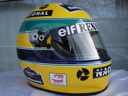 1994 ayrton senna f1 grand prix race helmet poster dvd 2