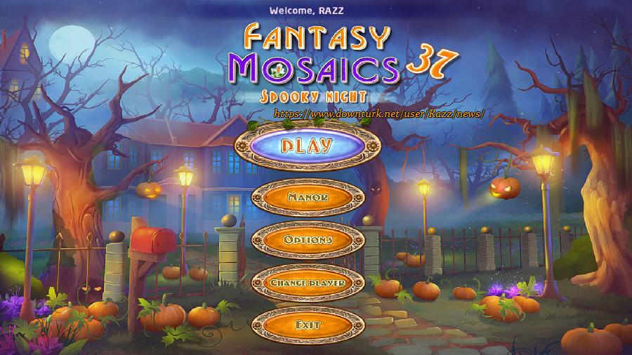 Fantasy Mosaics 37: Spooky Night [FINAL]