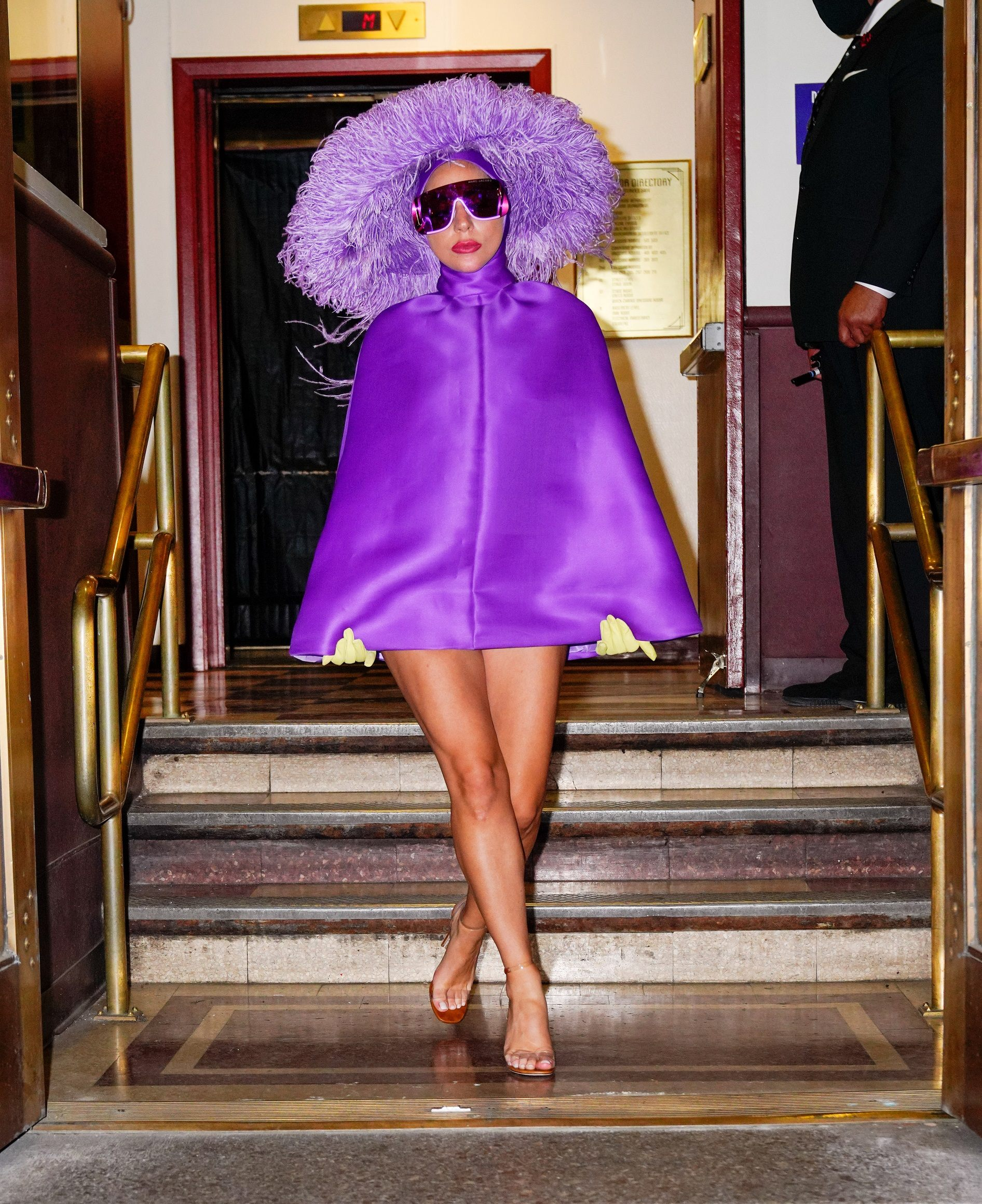 Lady Gaga in Haute Couture Valentino Des Ateliers