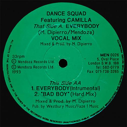 Dance Squad - Everybody / Bad Boy