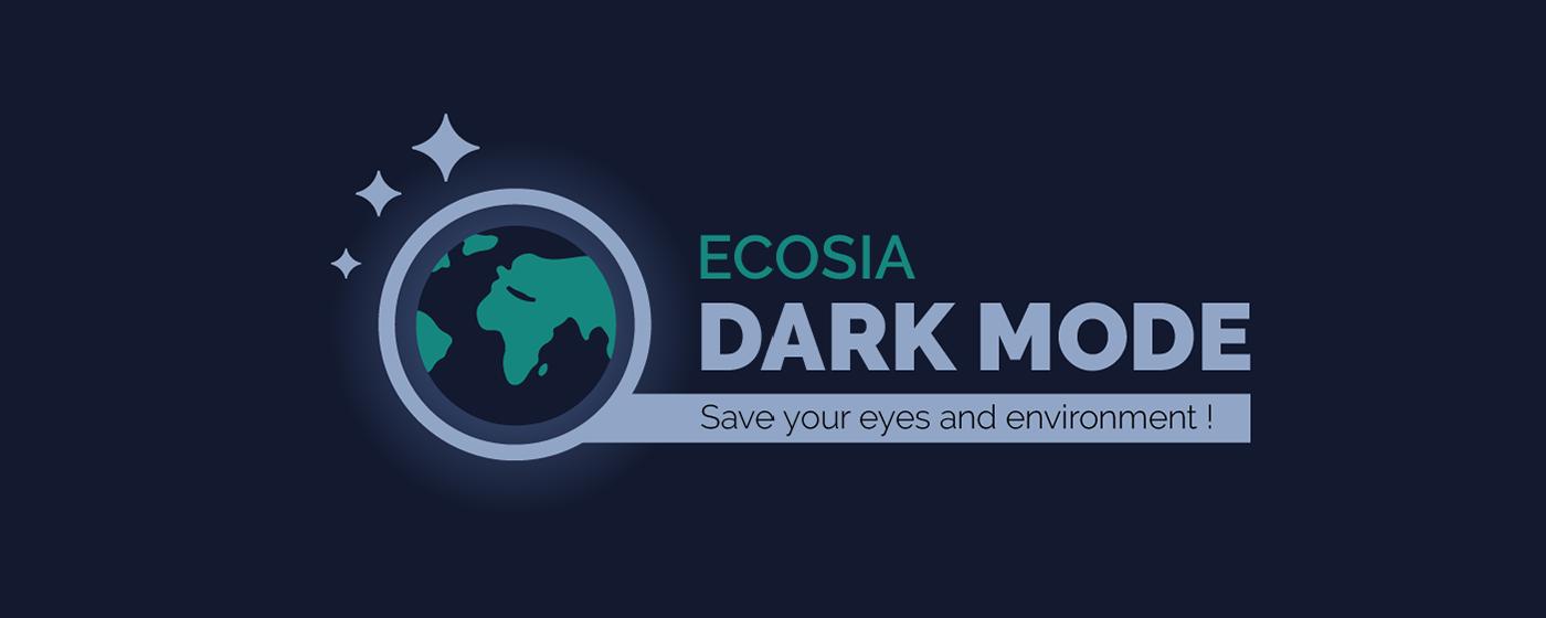 Ecosia Dark Mode