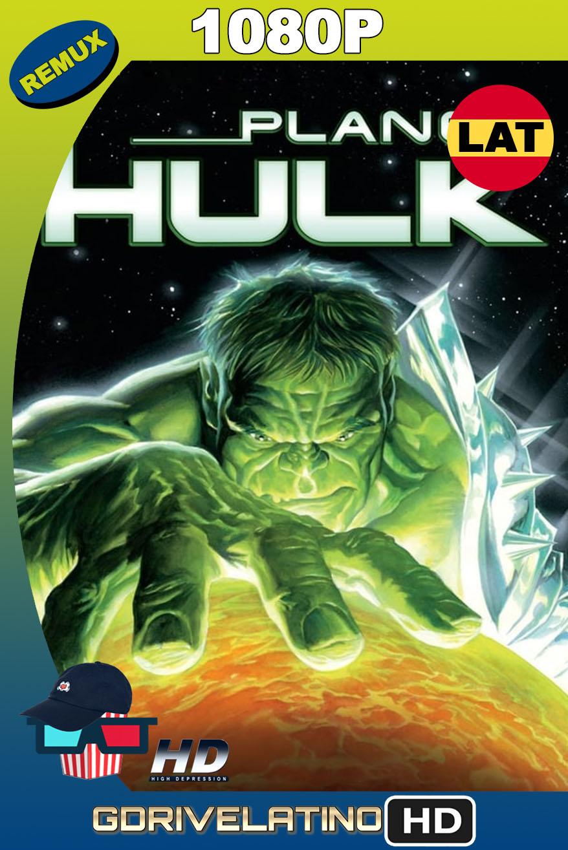 Planeta Hulk (2010) BDRemux 1080p Latino-Inglés MKV