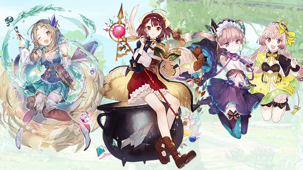 Topics tagged under 鍊金工房 on 紀由屋分享坊 Atelier-Mysterious-PV-02-04-21