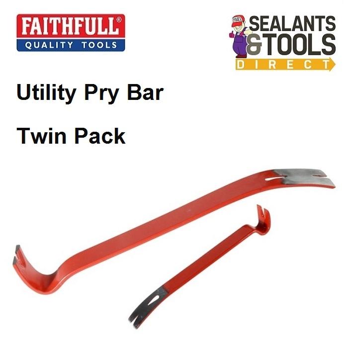 Faithfull Pry Bar 300mm 12in