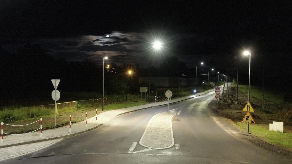 Gmina Sławno - oświetlenie