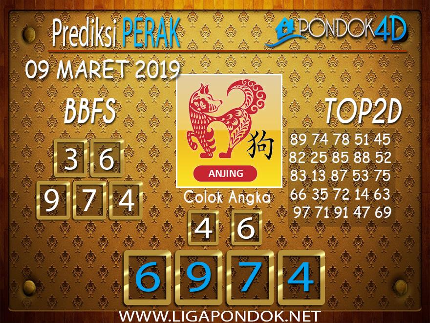 Prediksi Togel PERAK  PONDOK4D 09 MARET 2019