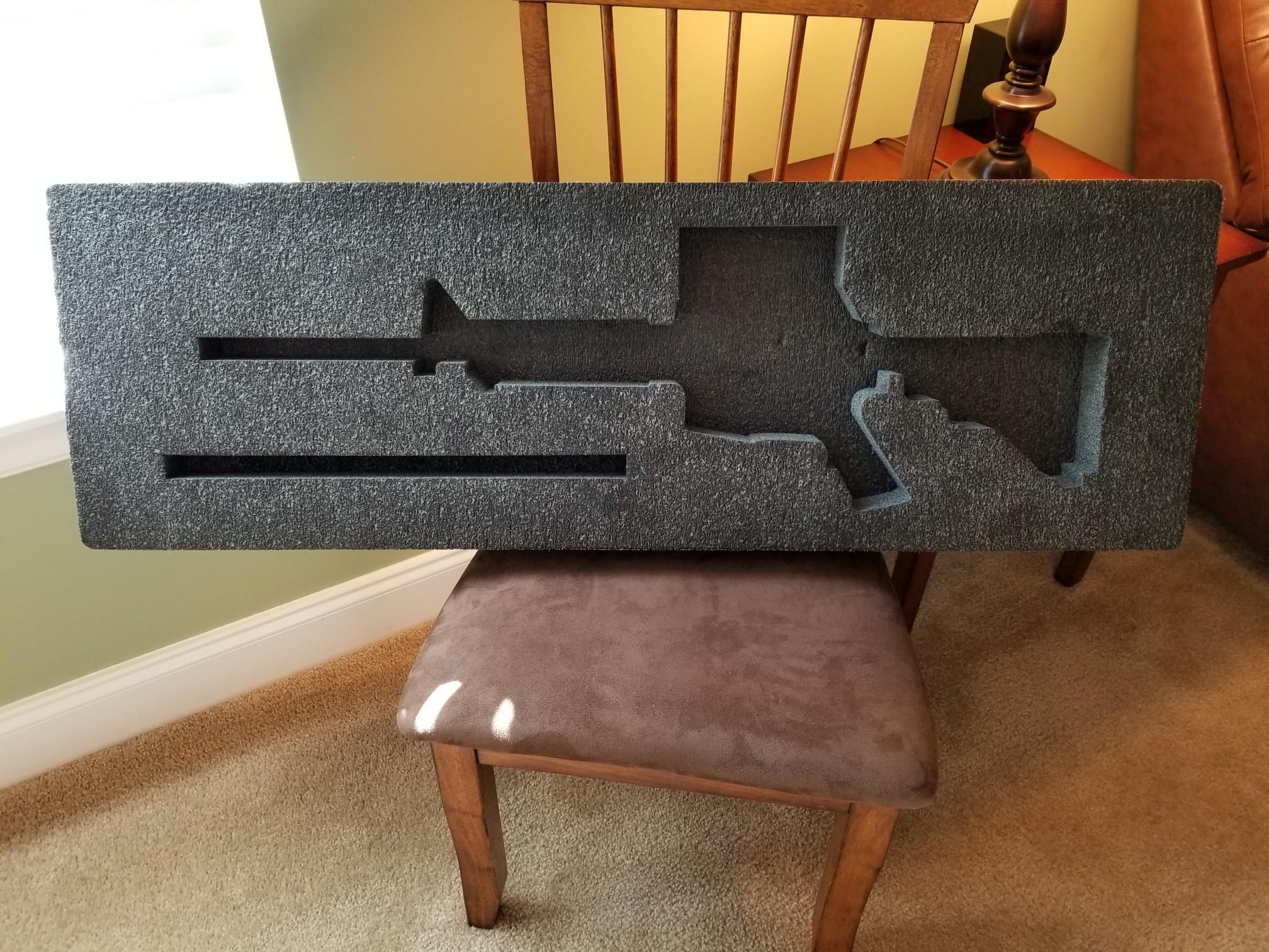 Pelican 1720 Laser-Cut Foam Insert for M4 Carbine - The FAL Files