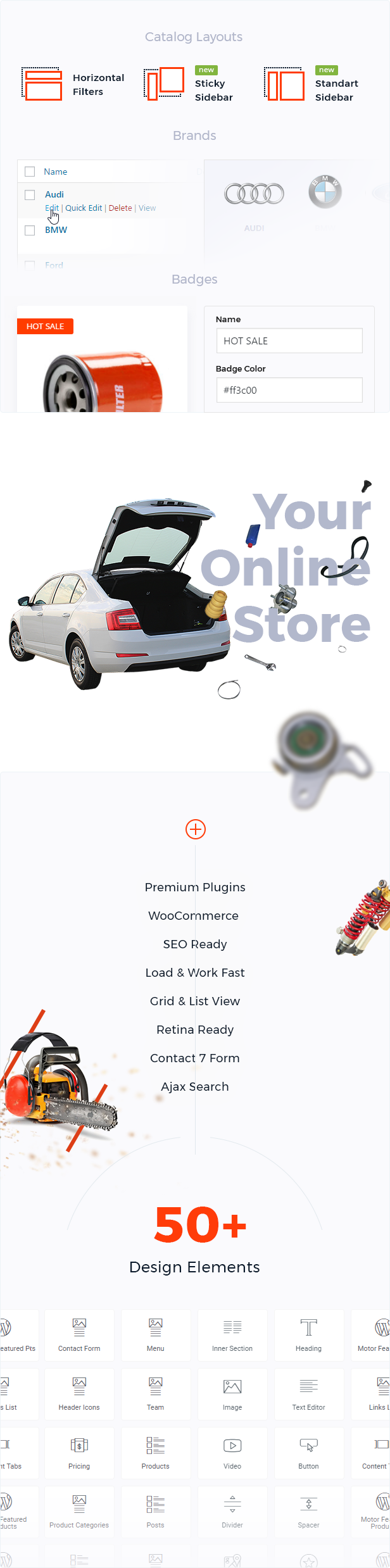 Motor – Vehicles, Parts, Equipments and Accessories WooCommerce Store - 4