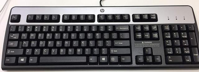 HP-keybord-usb