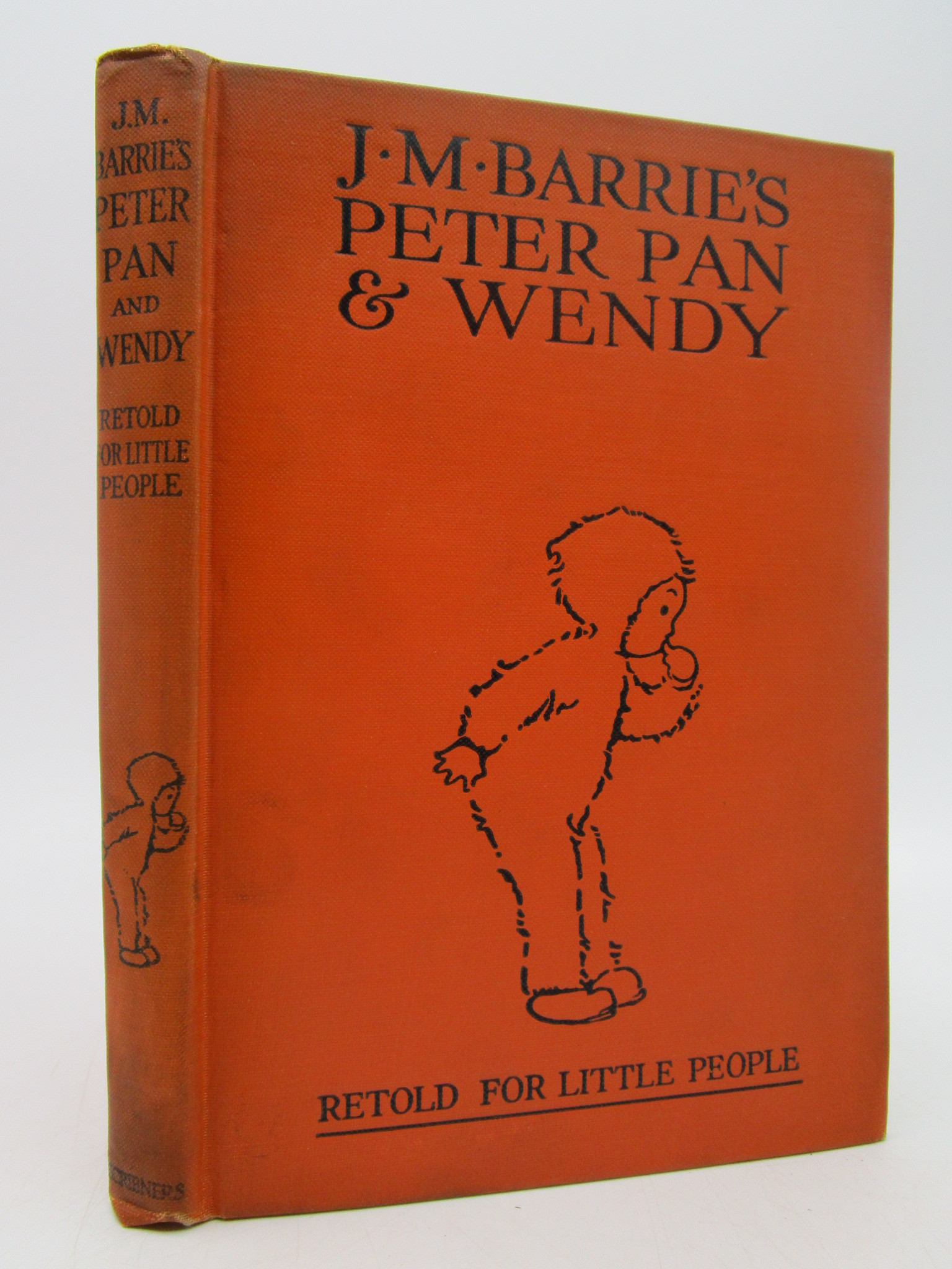 Image for J. M. Barrie's Peter Pan & Wendy retold for little people