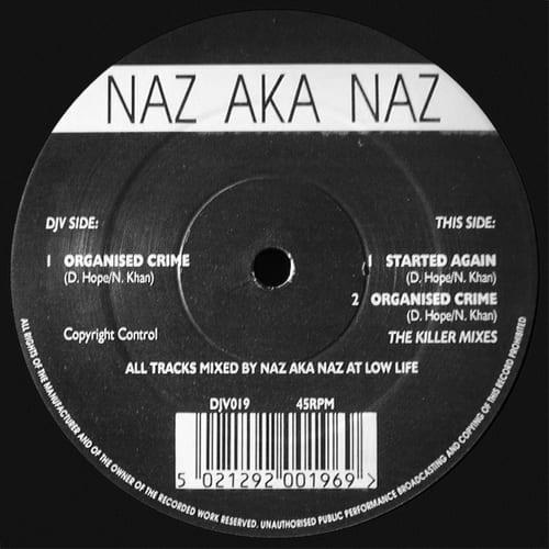Download Naz AKA Naz - Organised Crime / Started Again mp3