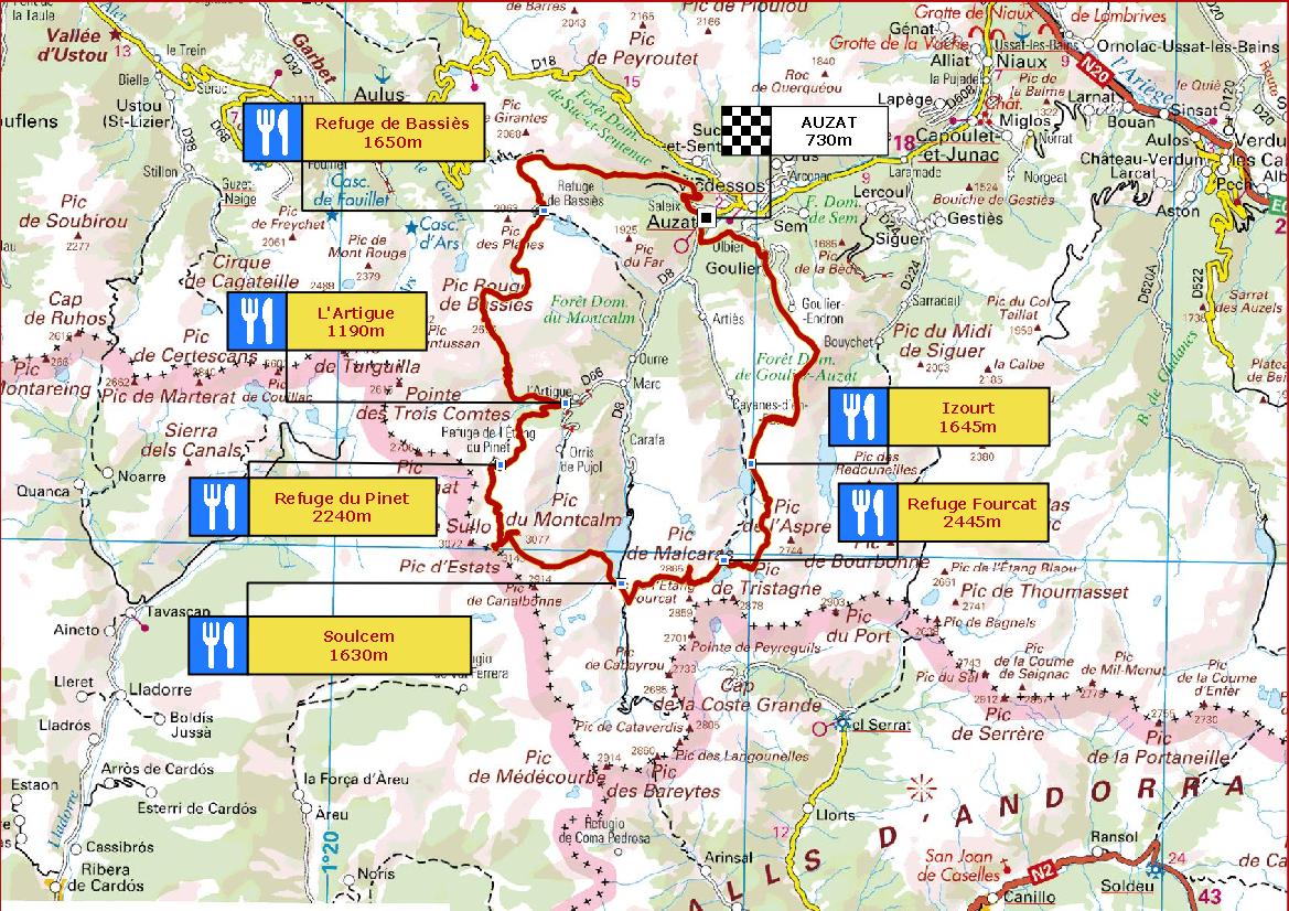 Carte 70km 2021