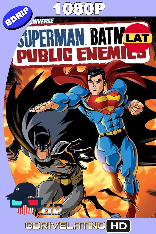 Superman/Batman: Enemigos Públicos (2009) BDRip 1080p Latino-Inglés MKV