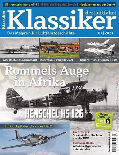 Cover: Klassiker der Luftfahrt Magazin No 07 2021