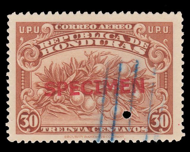 Honduras-Specimen