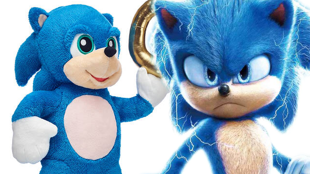 Sonic The Hedgehog Build A Bear Unveils Official Plush Toy Based