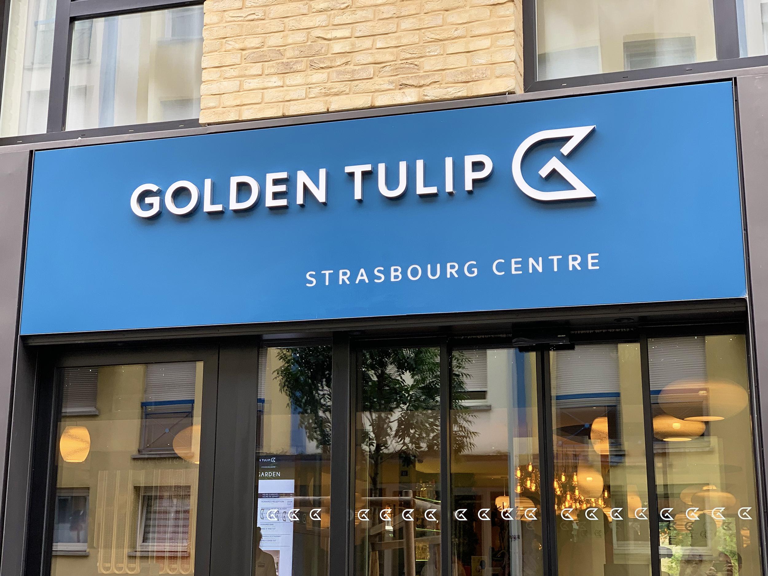 Mon Avis Sur L Hotel Golden Tulip Centre The Garden A Strasbourg