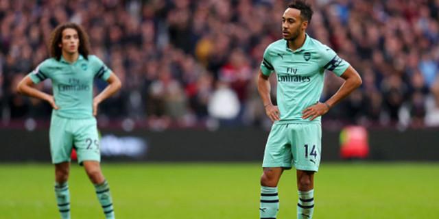 Arsenal Dikalahkan West Ham