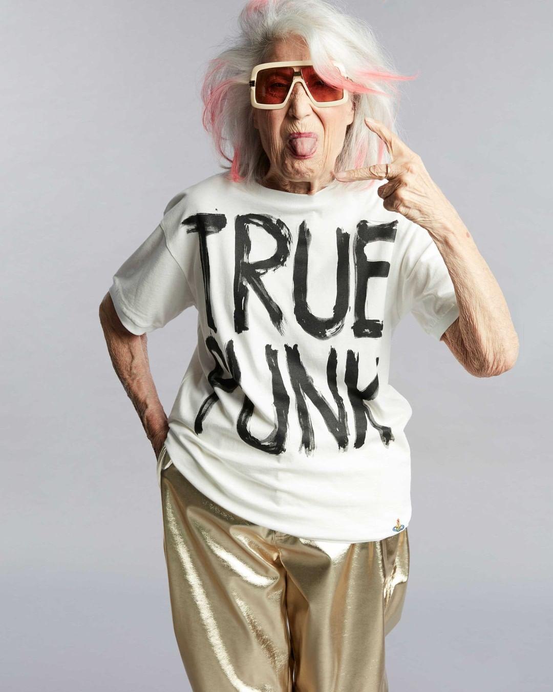 """""""Silver influencer"""", la nonna di Fedez e Maye Musk"""