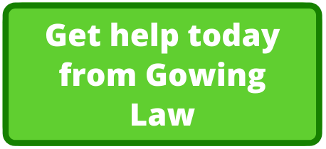 gowing law button help