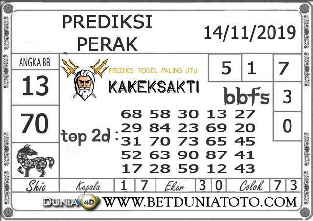 """Prediksi Togel """"PERAK"""" DUNIA4D 14 NOVEMBER 2019"""