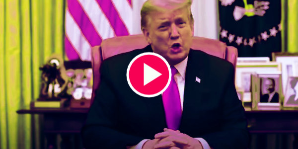 Video Message from President Donald J. Trump 1/13/21…