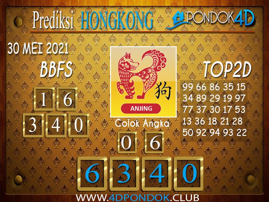 Prediksi Togel HONGKONG PONDOK4D 30 MEI 2021
