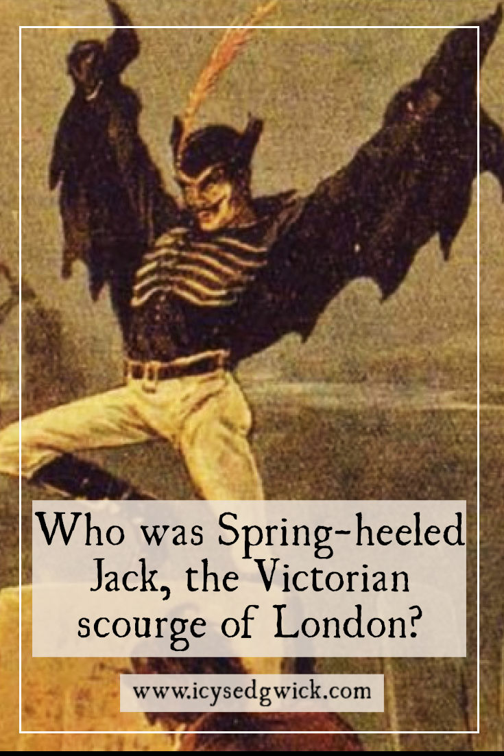 Spring-heeled Jack looms large in Victorian folklore, springing through gaslit streets. Who was he and why did he terrorise London's streets? Click here to find out.