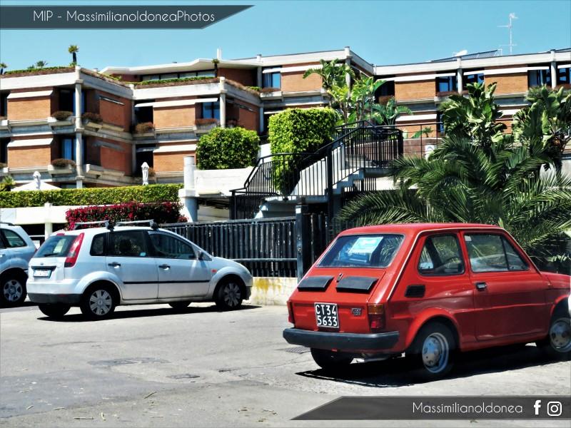 avvistamenti auto storiche - Pagina 20 Fiat-126-600-23cv-74-CT345633