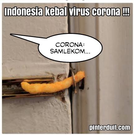 meme virus corona cheetos kunci pintu