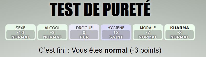 Le test de pureté  Test-purete