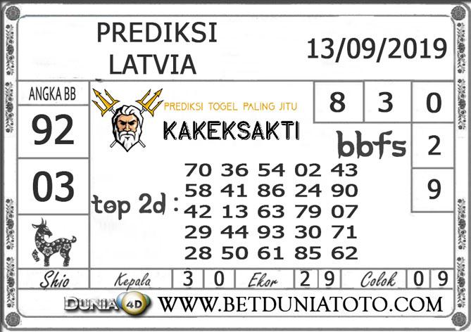 """Prediksi Togel """"LATVIA"""" DUNIA4D 13 SEPTEMBER 2019"""