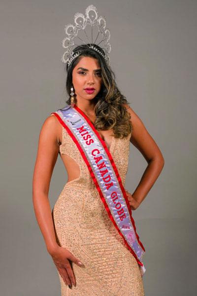 candidatas a the miss globe 2020. final: 12 nov. Canada