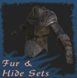 Fur and hide sets (RUS)